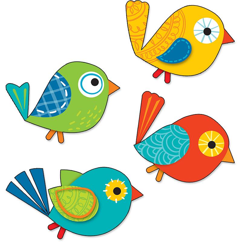 800x800 Boho Bird Clip Art
