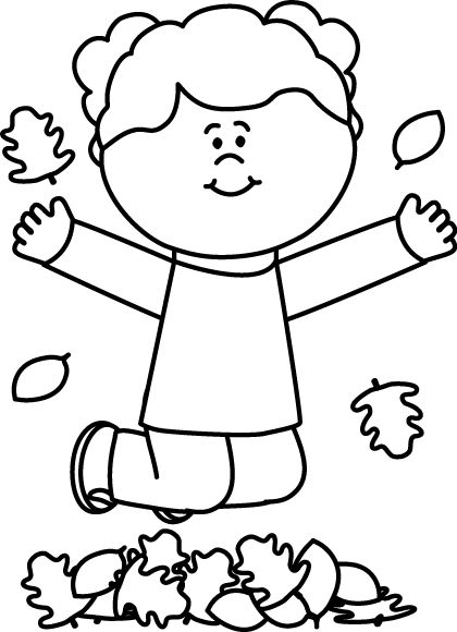 Preschool Clipart Black And White