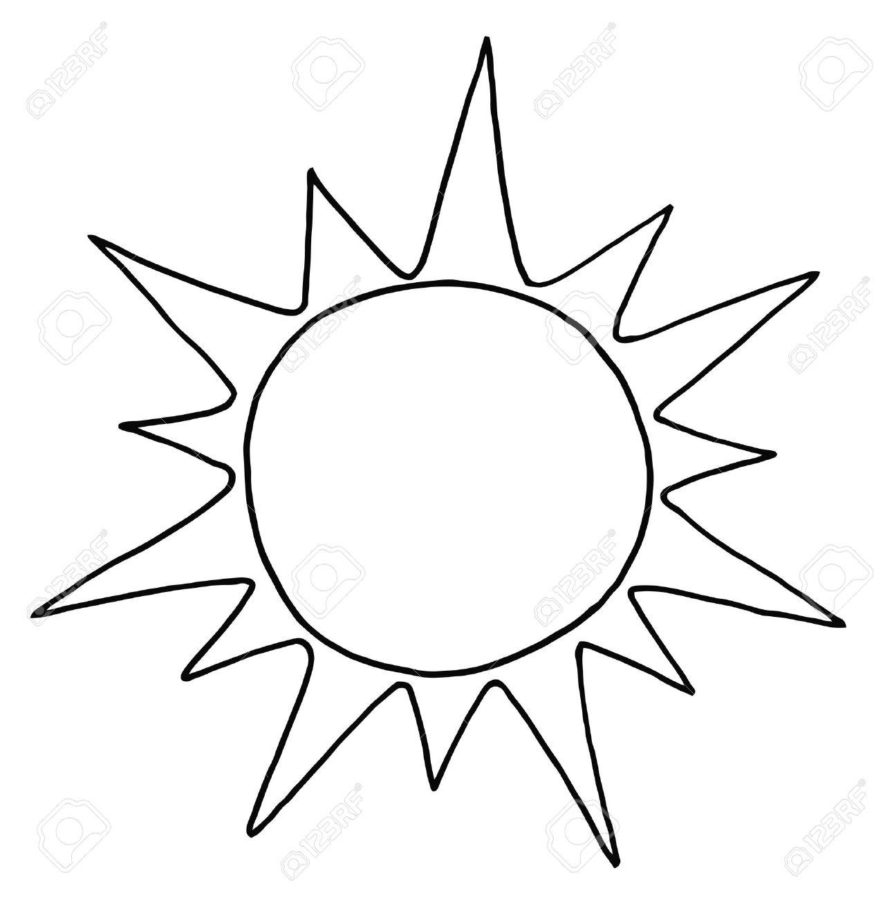 1264x1300 Sun Clip Art Black And White