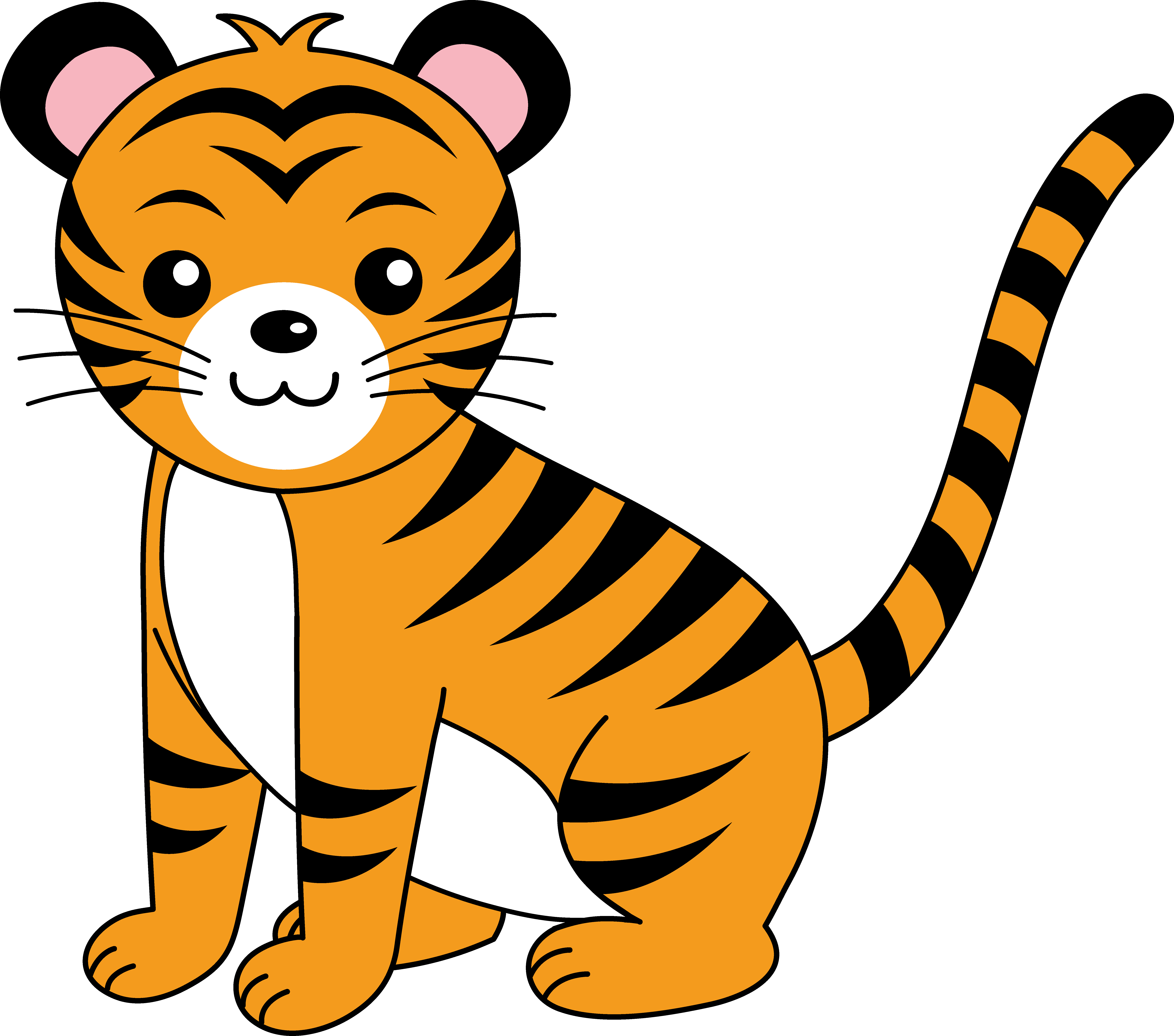 7178x6336 Cute Orange Tiger Cub