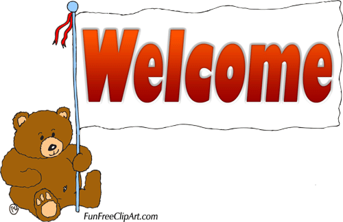 500x323 Welcome Sign Clipart