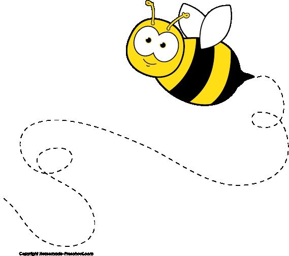 569x504 Bee Clipart Preschool