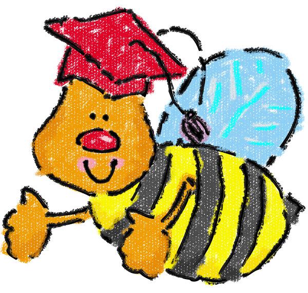 600x570 Bees Clipart Preschool