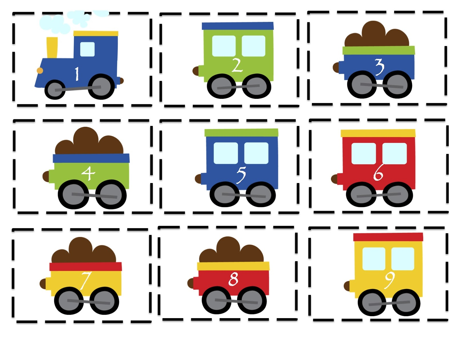 1600x1236 Preschool Printables Trains, Planes And Automobiles Printable
