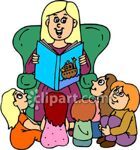 280x300 Reading Preschool Art Clipart