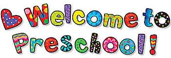 350x120 Welcome To Preschool Clipart Clipart Panda