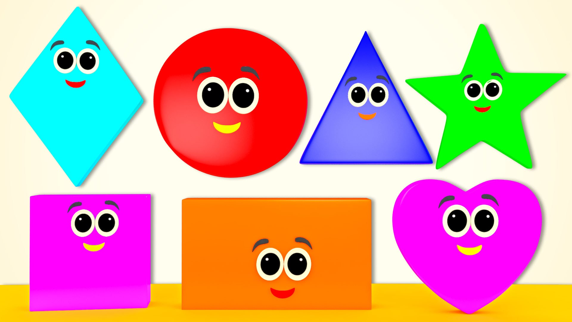1920x1080 Shapes Song Learn Shapes Nursery Rhymes From Pre School
