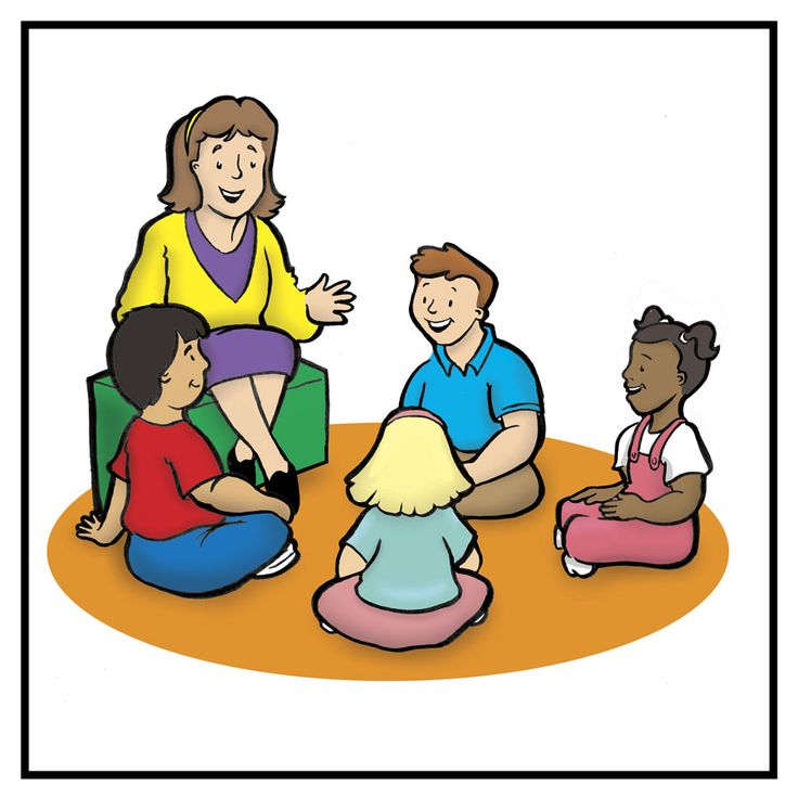 Preschool Teacher Clipart