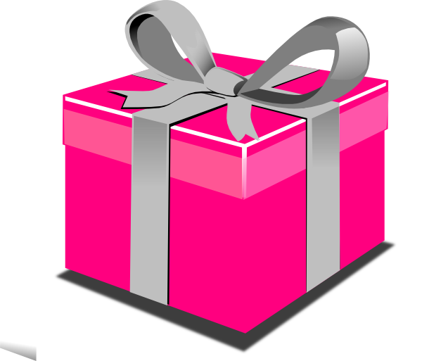 600x513 Birthday Present Clipart