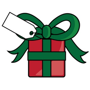 300x300 Gift Package Clipart 2157833