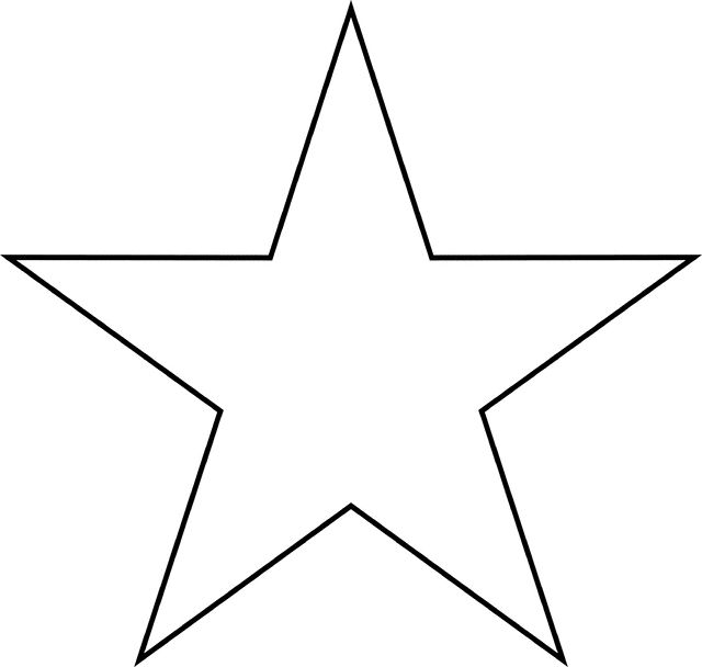 640x608 Best Star Clipart Ideas Printable Font Stencils