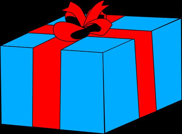 600x442 Clipart Present