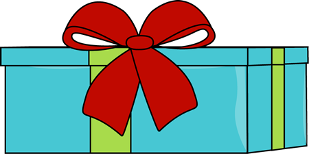 450x225 Cute Present Clipart Kid 2