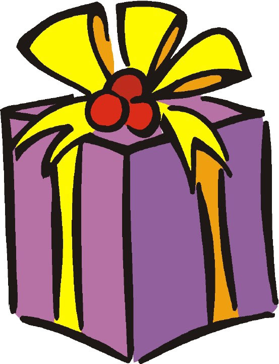 553x720 Christmas Presents Clipart