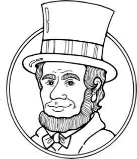 272x316 President Lincoln Clip Art