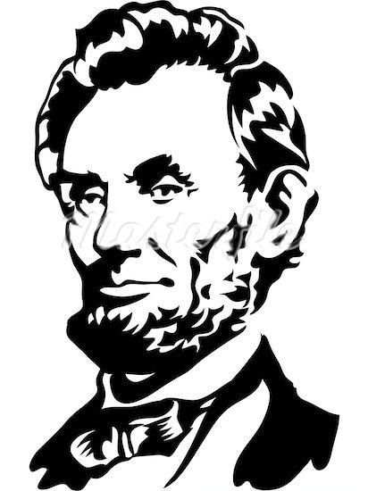 412x550 Presidents Clipart Abraham Lincoln Silhouette