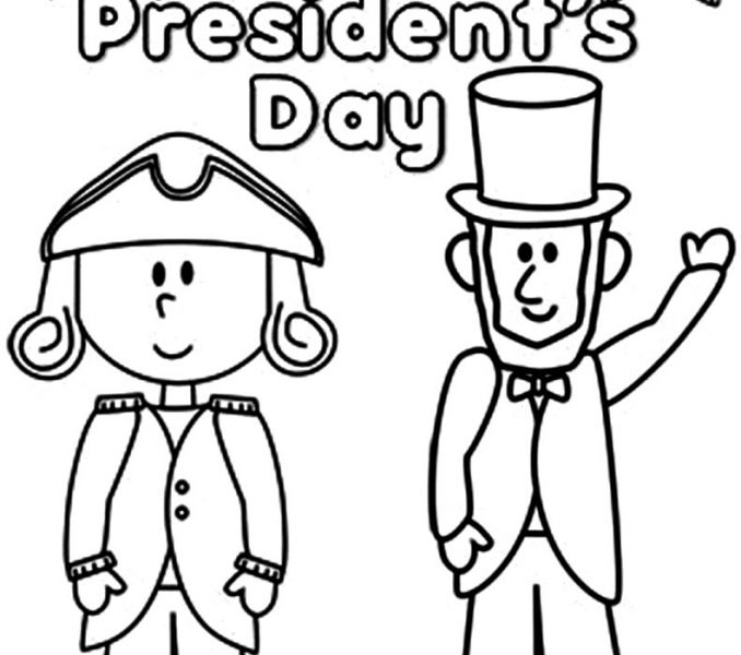 678x600 Coloring Pages For Presidents Day Kids Coloring