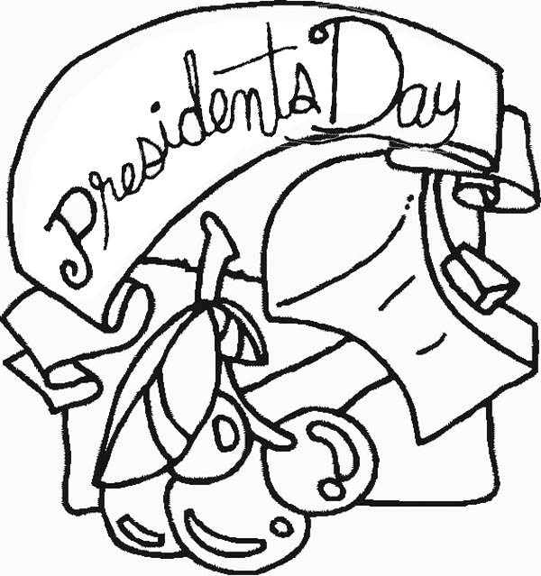 600x639 Happy Presidents Day For All Us Citizens Coloring Page