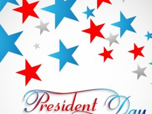 310x233 Presidents Day Background United States Stars Illustration Vector