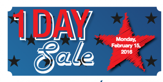 525x265 Price Chopper One Day President's Day Sale February 15, 2016