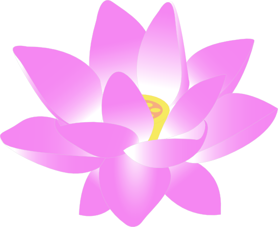 550x450 Free Pink Lotus Flower Clip Art