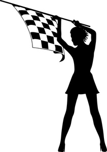 211x300 Free Checkered Flag Clip Art Image