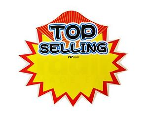 300x241 Pack Of 10 Retail Shop Promo Signs Top Selling Sale Price