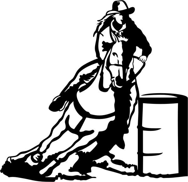 599x580 18 Best Clip Art Horses Images Drawings, Adhesive