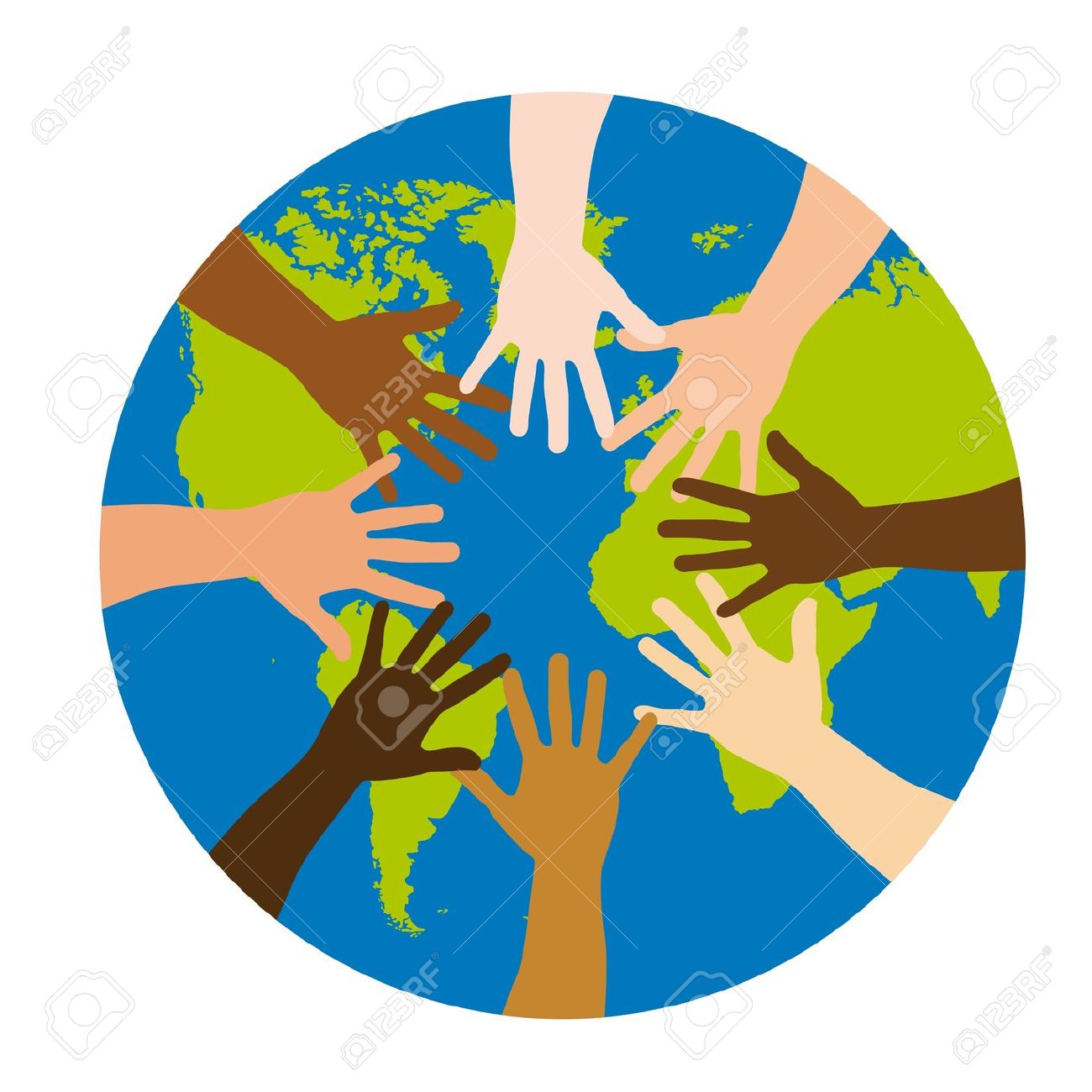 1300x1300 Peace Clipart Racial Equality