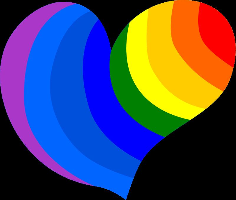 800x680 Free Rainbow Clipart