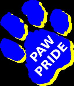 255x297 Paw Pride Clip Art