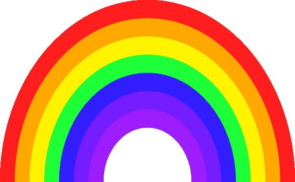 600x370 Bigger Rainbow Clip Art