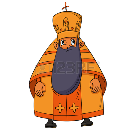 450x450 Orthodox Priest Cartoon Royalty Free Cliparts, Vectors, And Stock