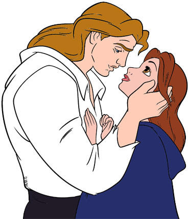 370x430 Belle And The Beast Clip Art Disney Clip Art Galore
