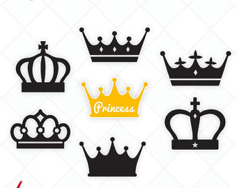 340x270 Crown Svg Etsy