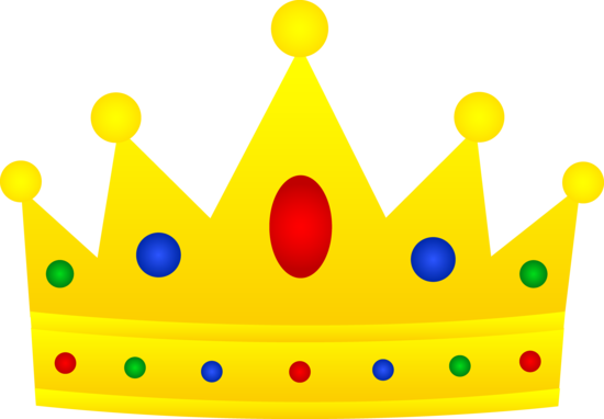 550x382 Prince And Princess Crown Clipart Clipartfest 2