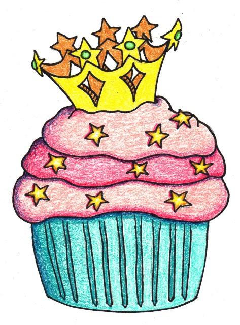 473x640 Cupcake Crown Cliparts
