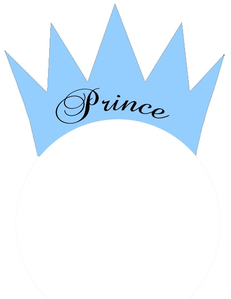 791x1024 Little Prince Crown Clipart