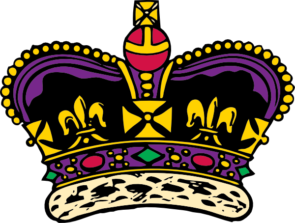 600x454 Prince Crown Clipart