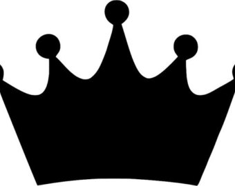 340x270 Prince Crown Decal Etsy