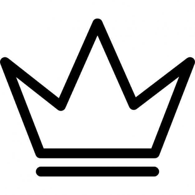 626x626 Royal Crown Outline For A Prince Icons Free Download