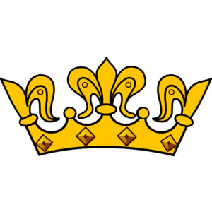 300x300 Royalty Free Simple Crown Clipart