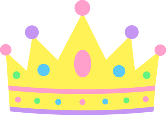 550x382 Cute Pastel Princess Crown