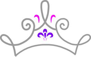 296x186 Princess Crown Clip Art