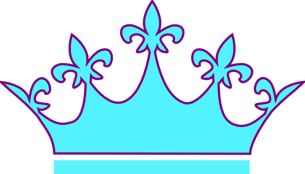 600x343 Turquoise Clipart Princess Crown