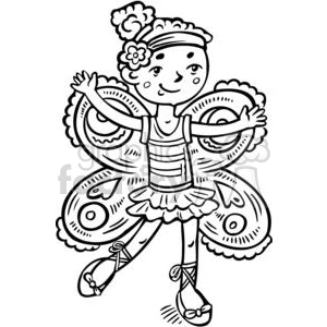 300x300 Royalty Free Girl Dressed Up Like A Fairy Princess 381582 Vector