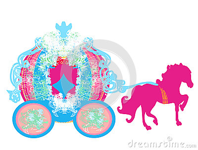 400x305 Princess Horse And Carriage Clipart Amp Princess Horse And Carriage