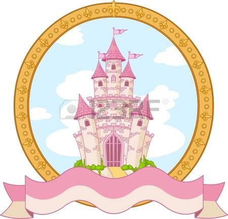 450x433 Princess Castle Clipart