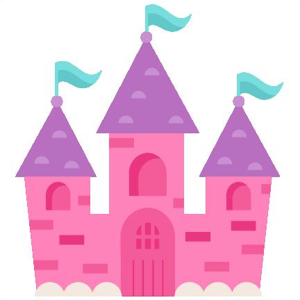 432x432 Princess Castle Svg Scrapbook Cut File Cute Clipart Files