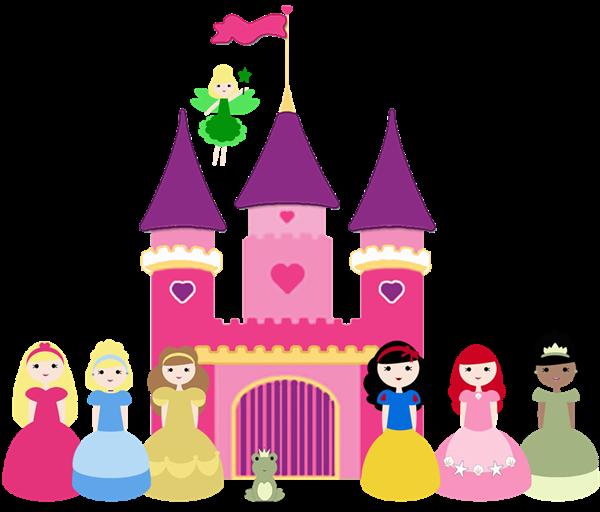 600x512 Princess Castle Clip Art Clipartfest